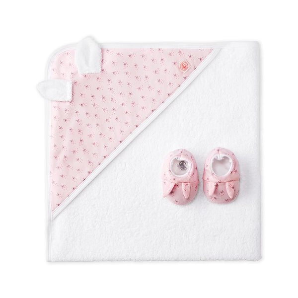 Petit Bateau Bunny Towel with Booties