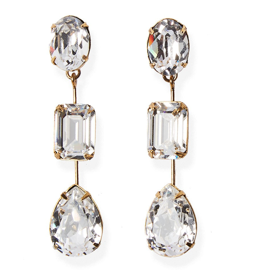 Jennifer Behr Allanah Earring in Diamond