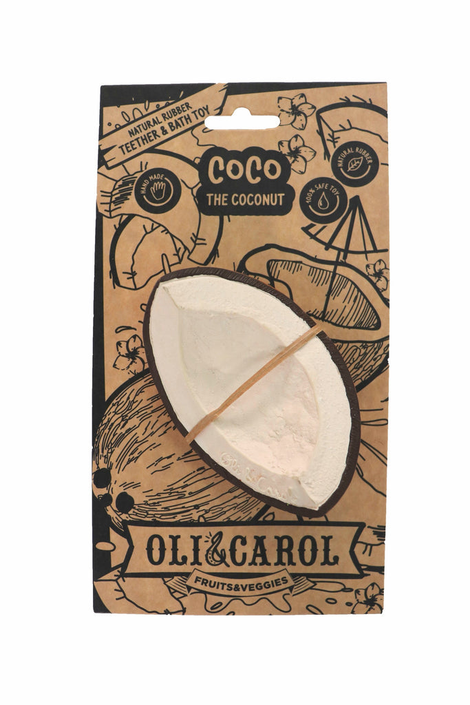 Oli & Carol Coco the Coconut Bath Toy