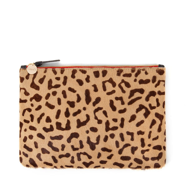 Clare V. Flat Clutch in Cat