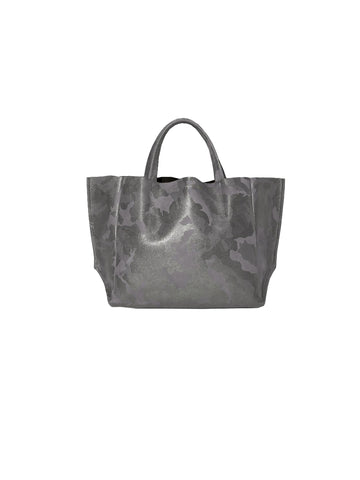 Ampersand As Apostrophe Half Tote in Iridescent Night