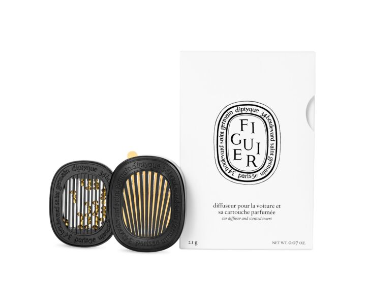 Diptyque Car Diffuser with Figuier Insert