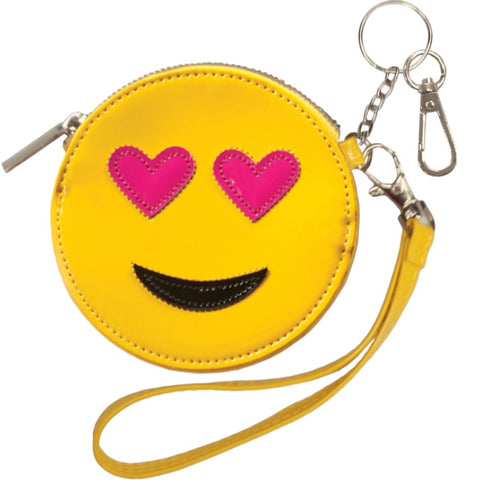 Iscream Emoji Purse and Keychain