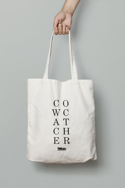 Cowcatcher Tote by emerybloom