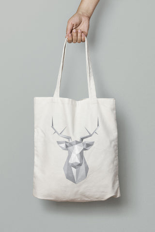 Stag Shoulder Tote Bag