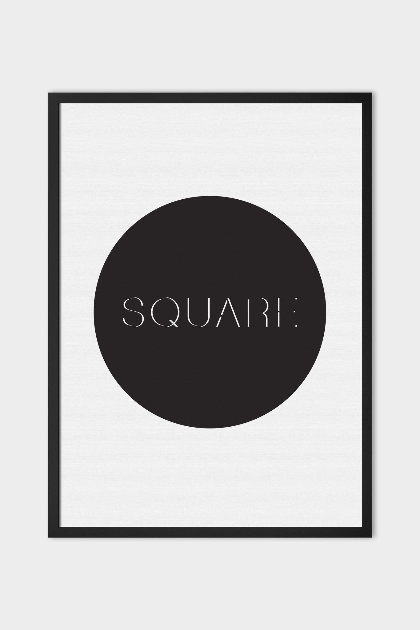 emerybloom square art print