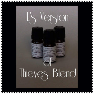 L's Version of Thieves Aromatherapy Diffuser Blend (5ml,10ml) - L's Naturals-  Bath, Body & Home Products
