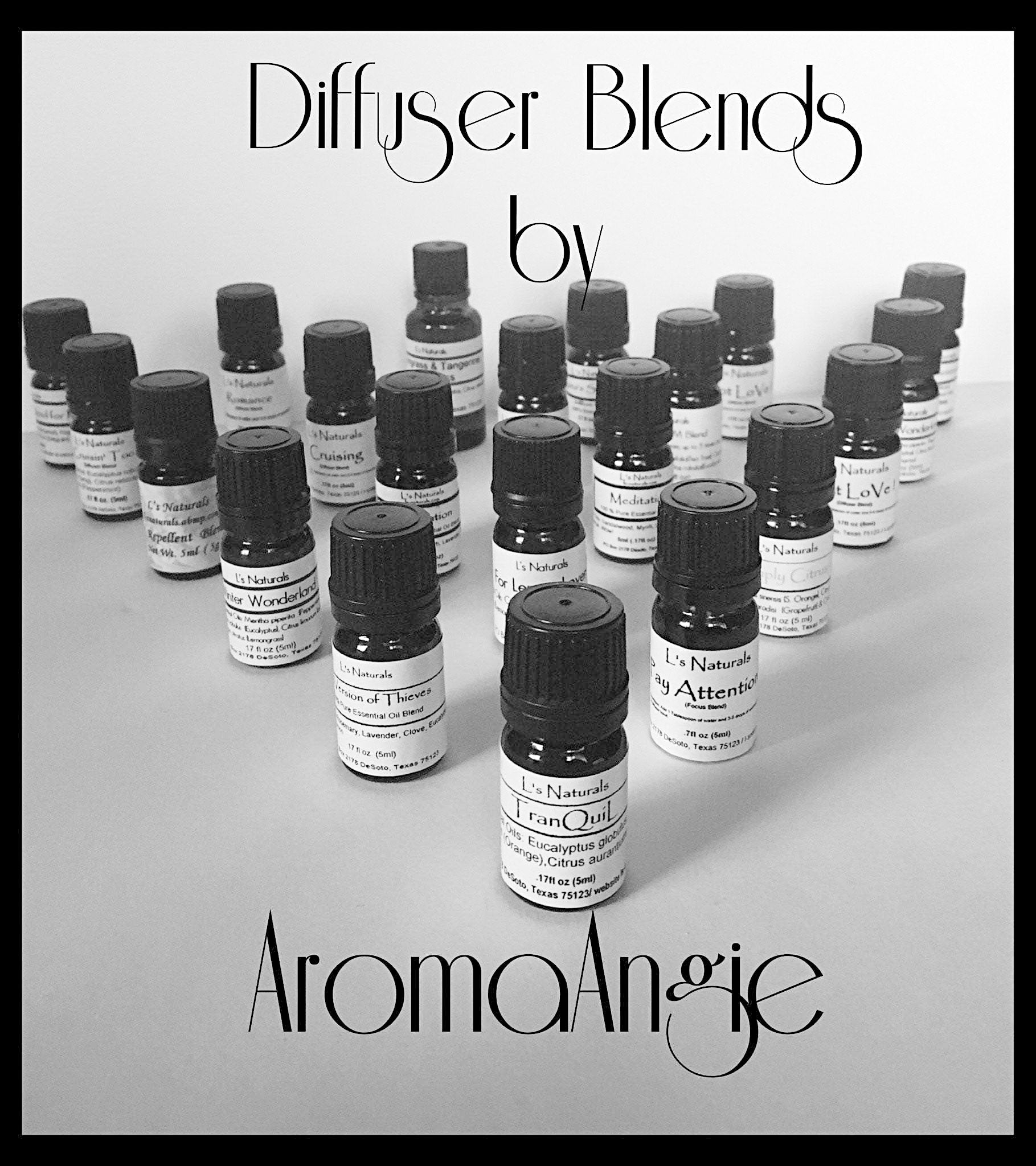 Ann's Special Aromatherapy Diffuser Blend (5ml,10ml) - L's Naturals | Bath & Body Boutique