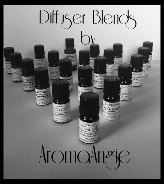 Meditation Diffuser Aromatherapy Blend (5ml,10ml) - L's Naturals-  Bath, Body & Home Products