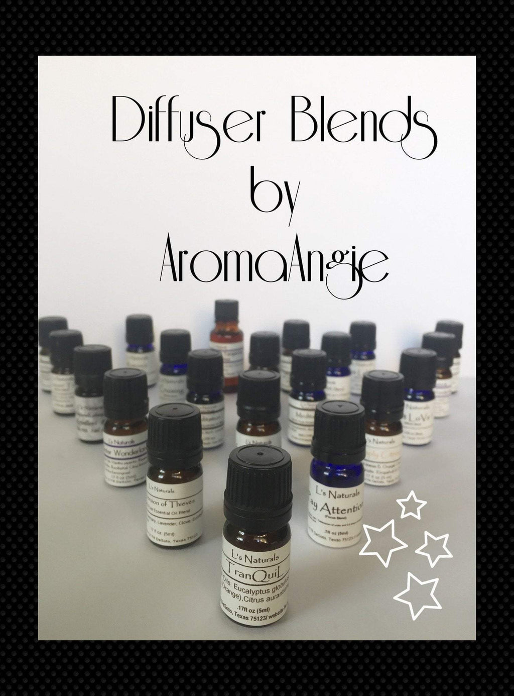 Stress Away Aromatherapy Diffuser Blend (5ml,10ml) - L's Naturals | Bath & Body Boutique