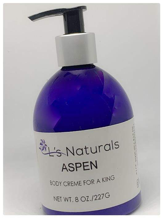 ASPEN BODY CREME FOR A KING - L's Naturals-  Bath, Body & Home Products