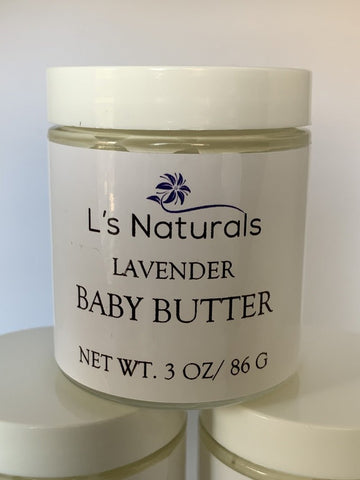 Lavender Baby Butter - L's Naturals | Bath & Body Boutique