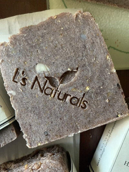 Cocoa and Oatmeal Handmade Soap - L's Naturals-  Bath, Body & Home Products