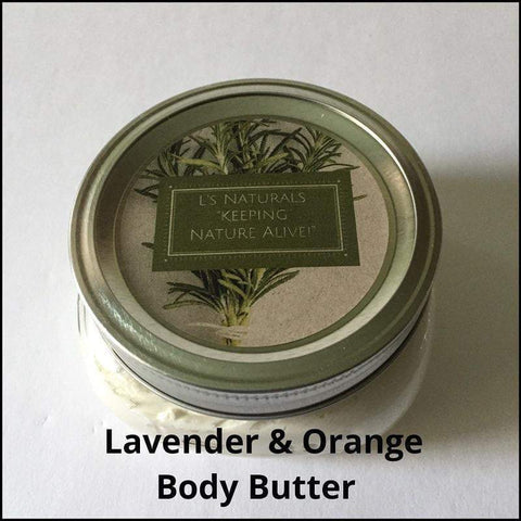 Lavender & Orange Body Butter - L's Naturals-  Bath, Body & Home Products