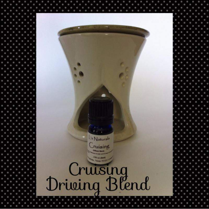 Cruisin' Driving Aromatherapy Blend (5ml , 10ml) - L's Naturals-  Bath, Body & Home Products