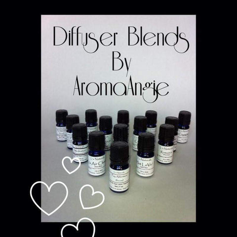 Romance Diffuser Blend (5ml,10ml) - L's Naturals-  Bath, Body & Home Products