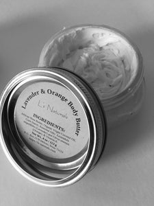 Lavender & Orange Body Butter - L's Naturals | Bath & Body Boutique