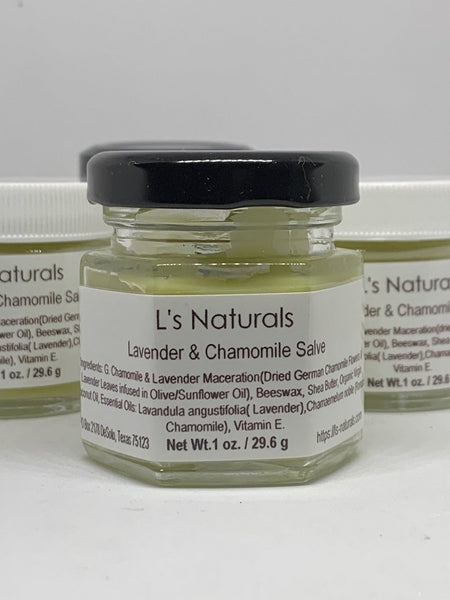 Lavender & Chamomile Salve - L's Naturals | Bath & Body Boutique