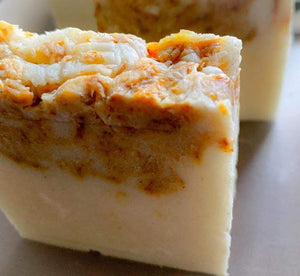 LAVENDER AND ORANGE HANDMADE SOAP - L's Naturals-  Bath, Body & Home Products