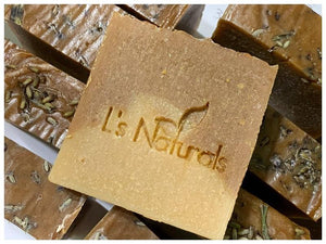 Orange and Lavender Handmade Soap - L's Naturals | Bath & Body Boutique