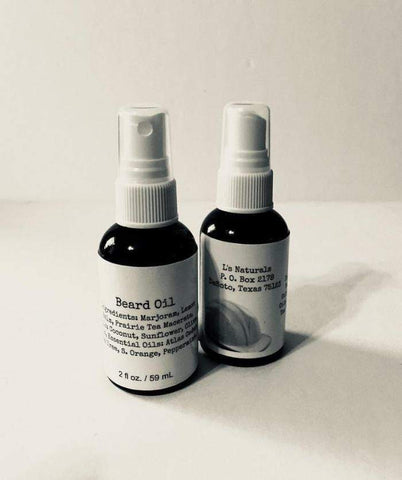 L's King's Beard Oil (2 oz.) - L's Naturals | Bath & Body Boutique