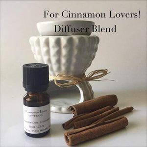 For Cinnamon Lovers Aromatherapy Diffuser Blends - L's Naturals | Bath & Body Boutique
