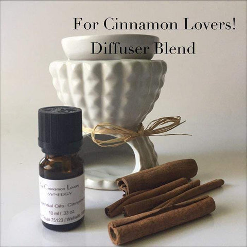 For Cinnamon Lovers Aromatherapy Diffuser Blends - L's Naturals-  Bath, Body & Home Products
