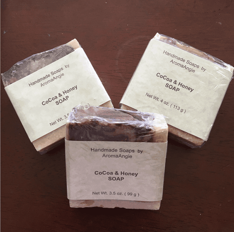 CoCoa & Honey Handmade Soap - L's Naturals-  Bath, Body & Home Products
