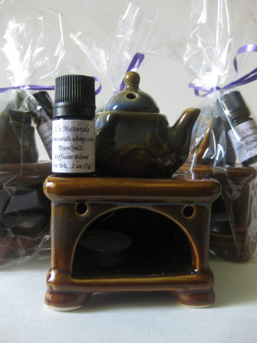 Ceramic Diffuser Gift Sets - L's Naturals-  Bath, Body & Home Products