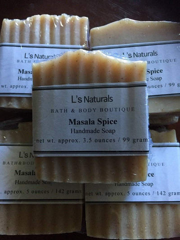 Masala Spice Bar Soap - L's Naturals-  Bath, Body & Home Products