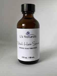 Nita's Hair Serum (2 fl oz.) - L's Naturals | Bath & Body Boutique