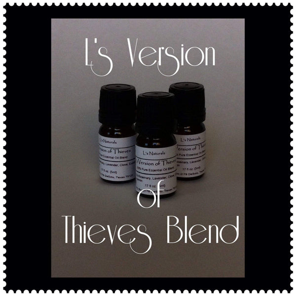 L's Version of Thieves Aromatherapy Diffuser Blend (5ml,10ml) - L's Naturals | Bath & Body Boutique