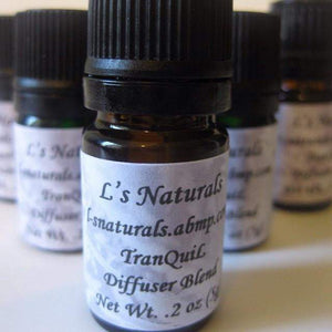 TranQuiL  Aromatherapy Diffuser Blend (5ml,10ml) - L's Naturals-  Bath, Body & Home Products
