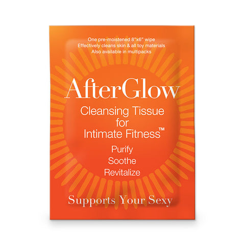 AfterGlow Intimate Wipe -Single Pack - Min order 6 pcs.