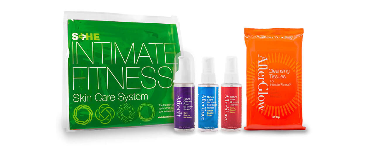 She Intimate Fitness Skin Care System