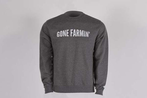 Gone Farmin' Men's Crew Neck Sweatshirt