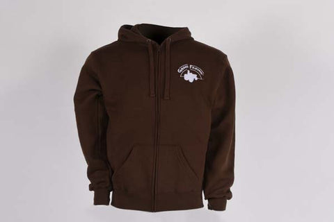 Gone Farmin' Men's J. America Zip-Up Sweatshirt