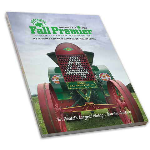 2019 Gone Farmin' Fall Premier Showbook