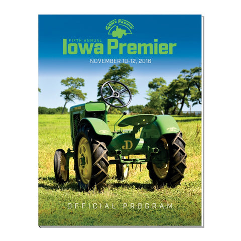 The 2016 Iowa Premier Catalog
