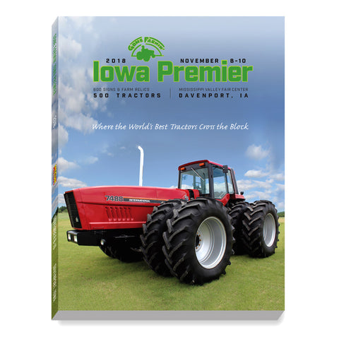 The 2018 Iowa Premier Catalog