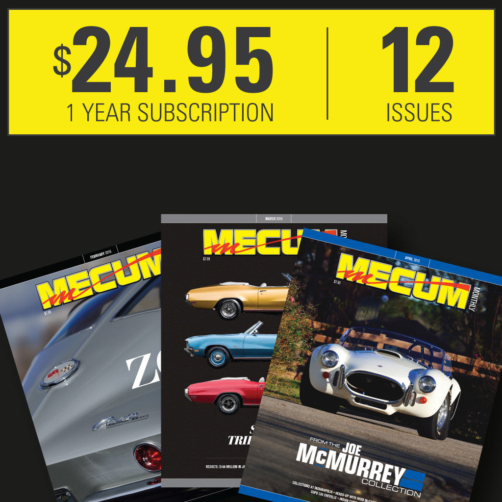 Mecum Auction Monthly Magazine Subscription – Mecum Shop