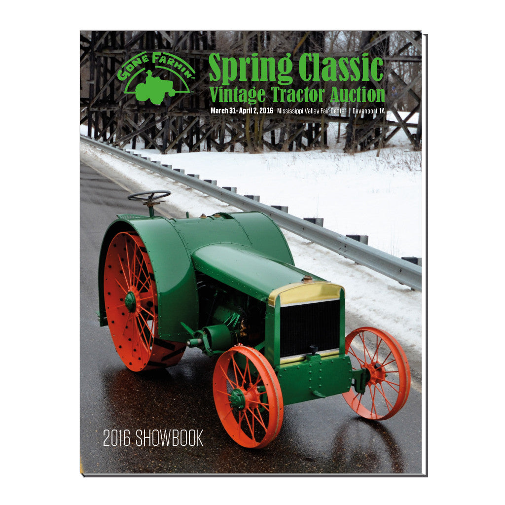 2016 Gone Farmin' Spring Classic Showbook