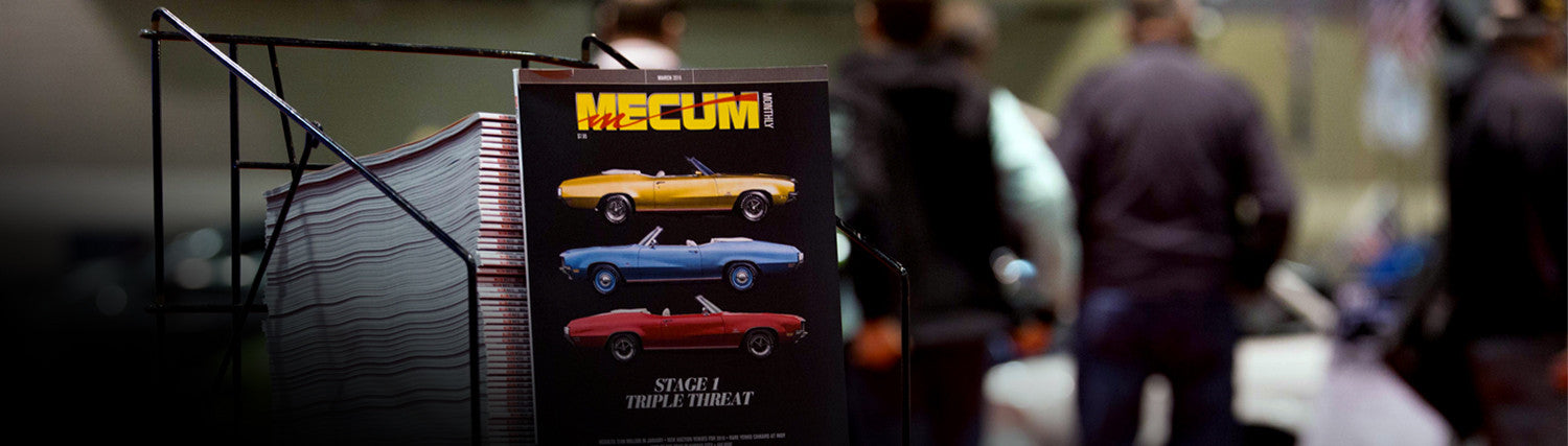 Subscribe to Mecum Monthly