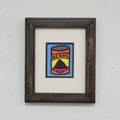 Print On Photo Paper - 8x10 inches - Beans (Blue)