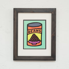 Print On Photo Paper - 11x14 inches - Beans (Green)