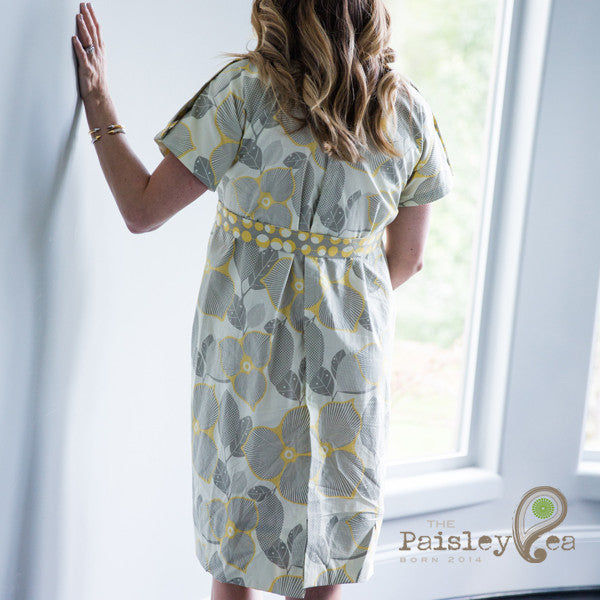 Ivory Blossom Gown – The Paisley Pea