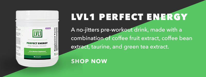 CrossFit pre-workout all natural lvl1 perfect energy