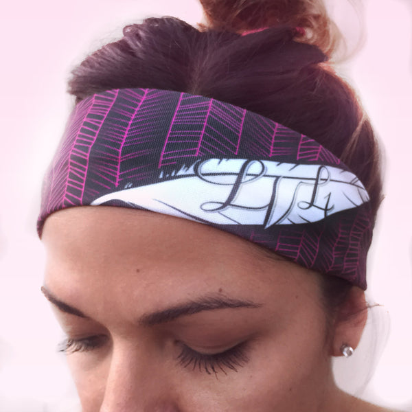 Feather Active Headband - LVL1 LIFE  - 2