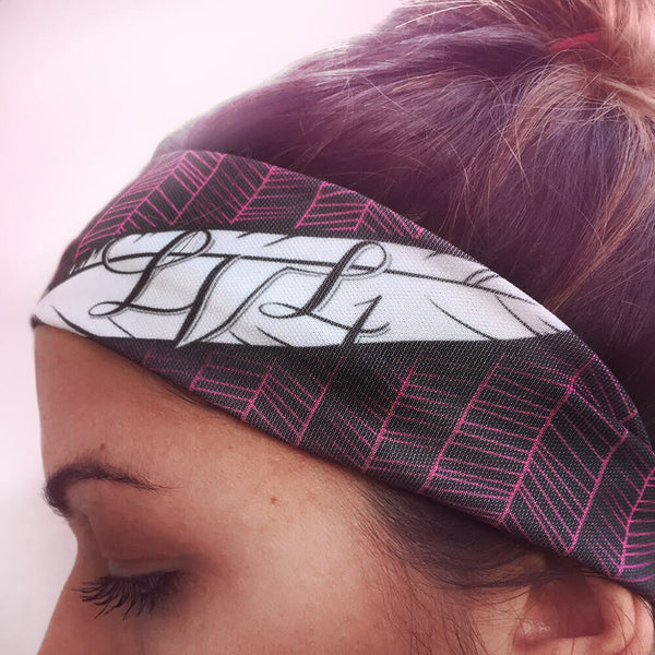 Feather Active Headband - LVL1 LIFE  - 1