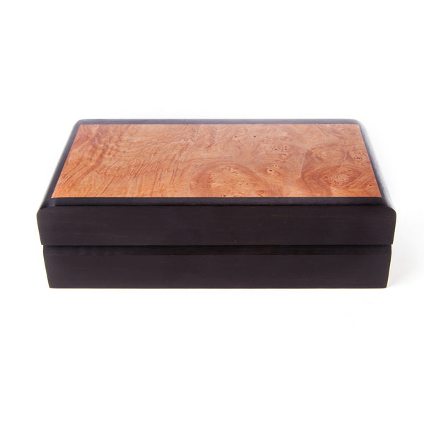 Ebony and Birdseye Maple Box